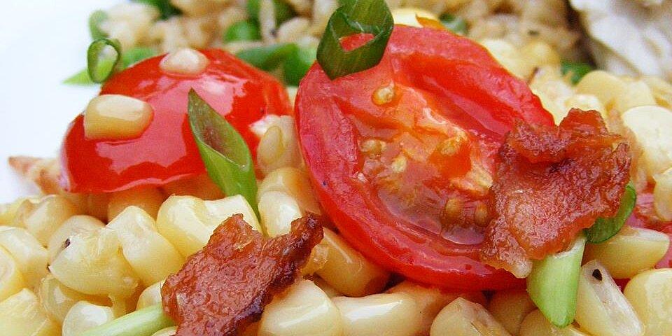 fresh corn and tomato casserole recipe