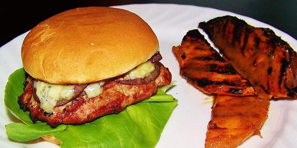 mushroom blue cheese turkey burgers recipe