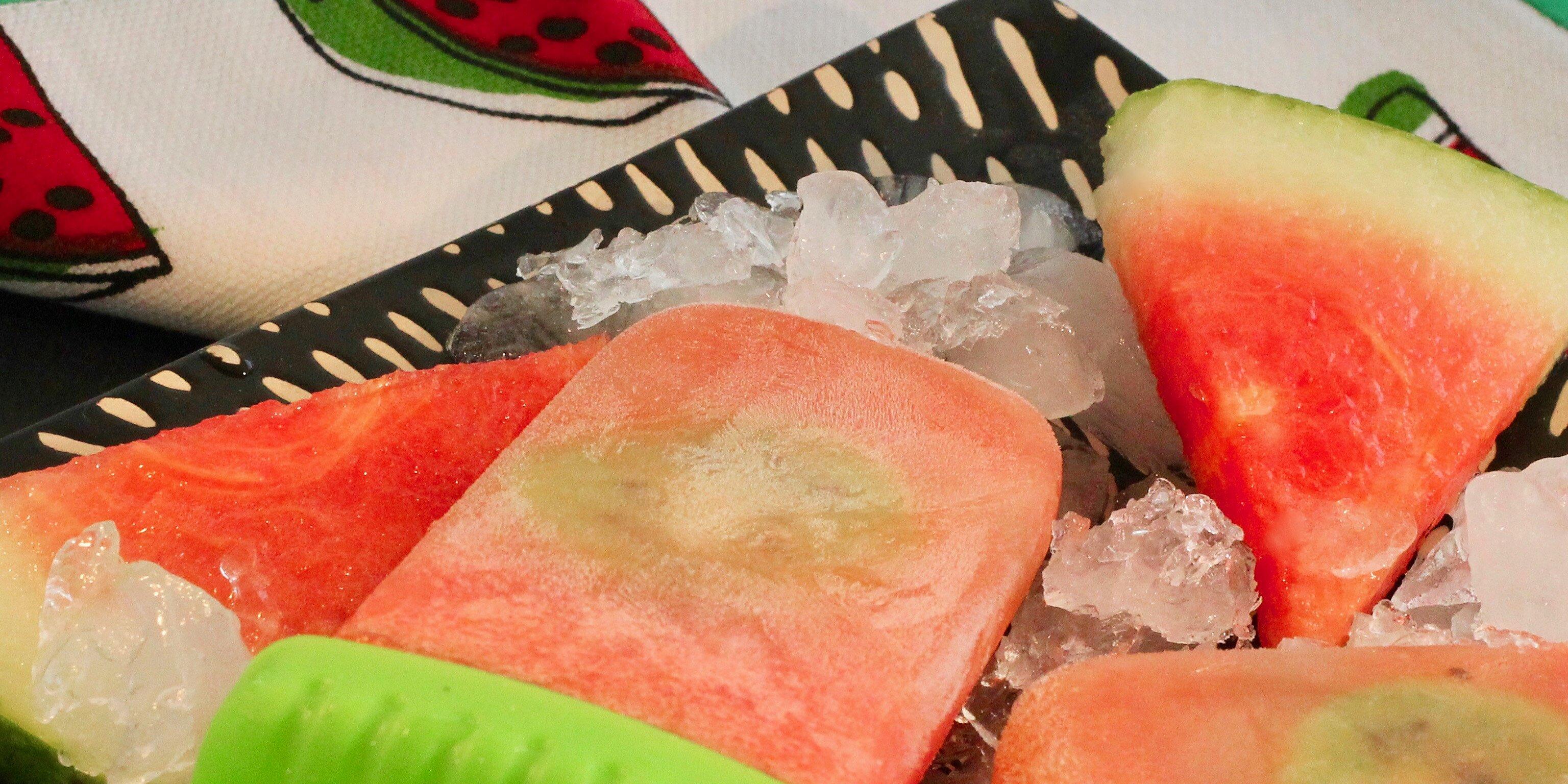 boozy watermelon kiwi ice pops recipe