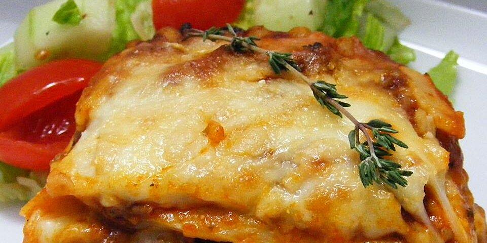 alysias basic meat lasagna recipe
