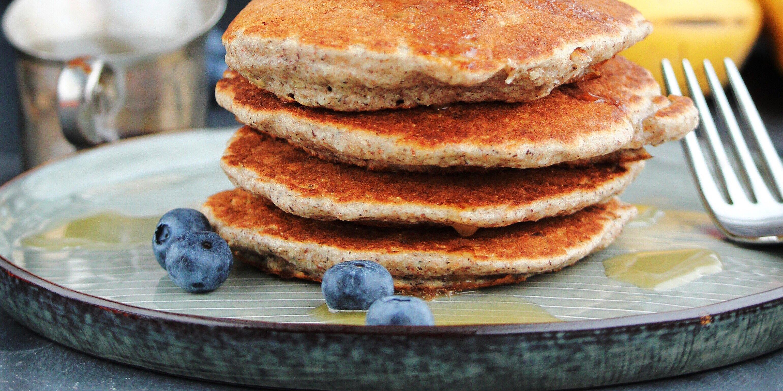 coconut buckwheat pancakes recipe