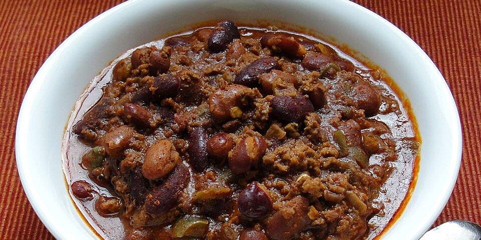 quick chili ii recipe