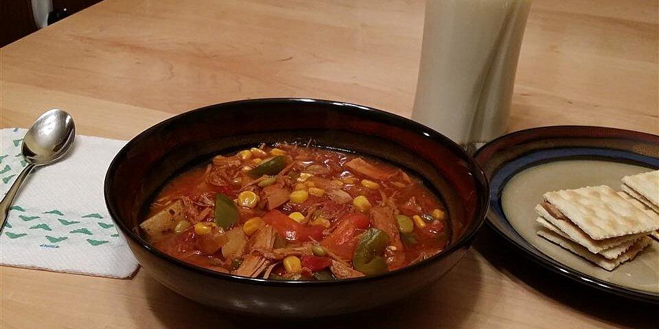 leftover turkey brunswick stew recipe