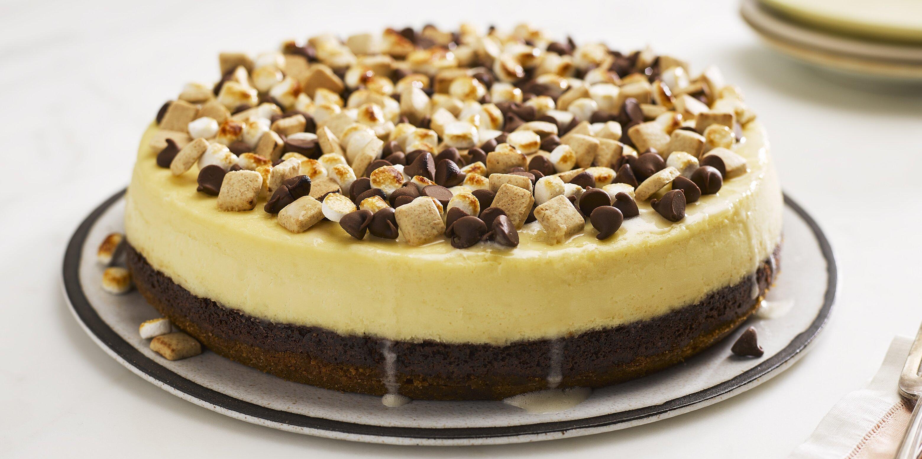 smores pieces cheesecake recipe