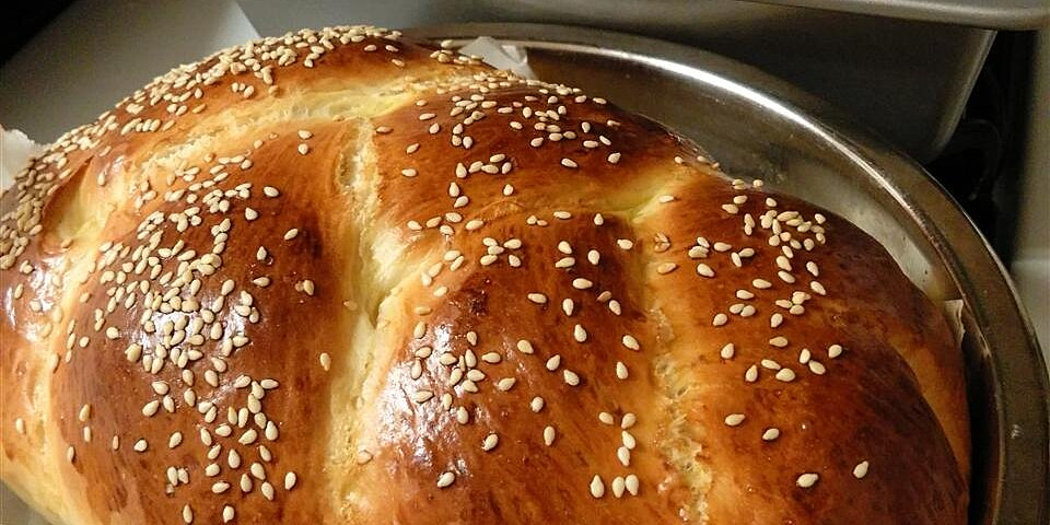 bread machine challah ii recipe