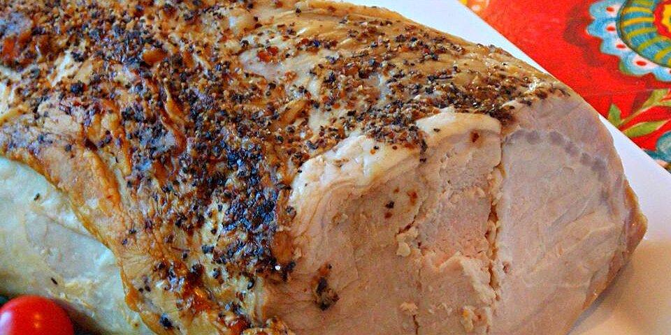 dads basic moist pork roast recipe
