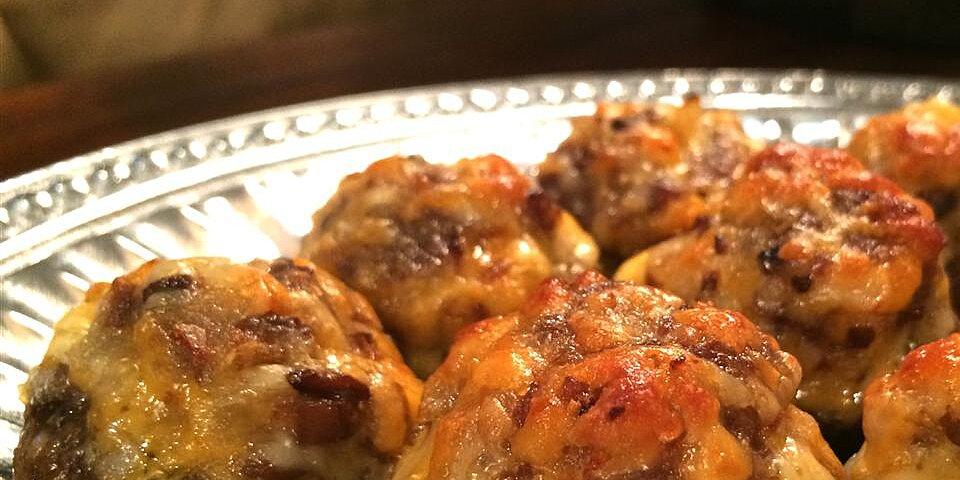 bacon and cheddar stuffed mushrooms recipe