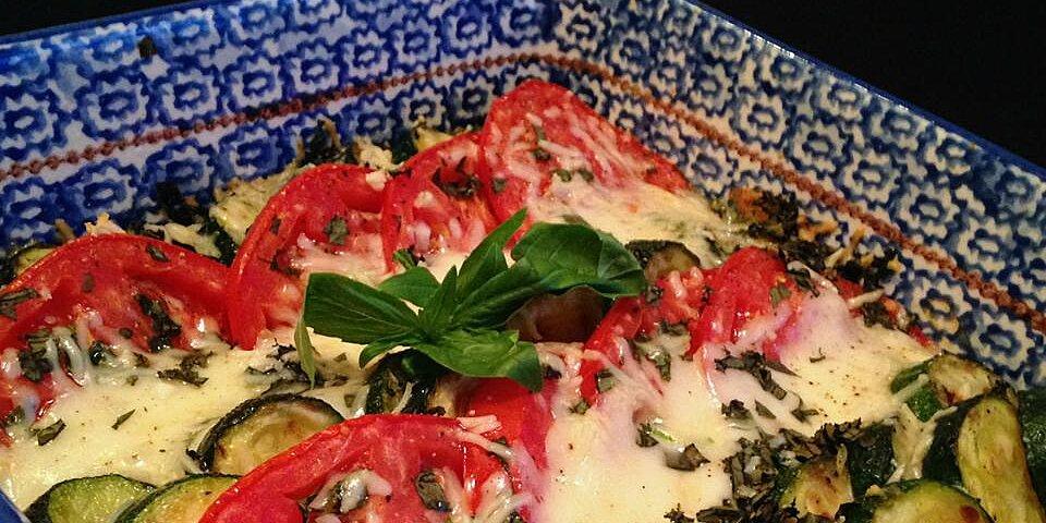 zucchini e pomodori gratinati zucchini and tomato gratin recipe