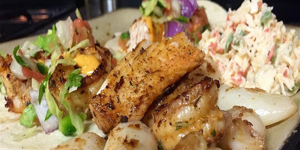 spicy cajun shrimp tacos recipe