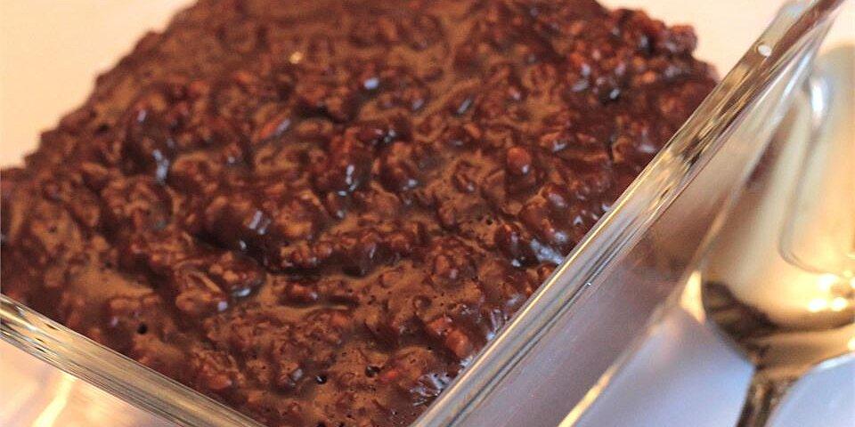 chocolate oatmeal porridge recipe