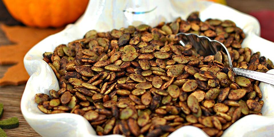 seasoned pumpkin seeds recipe