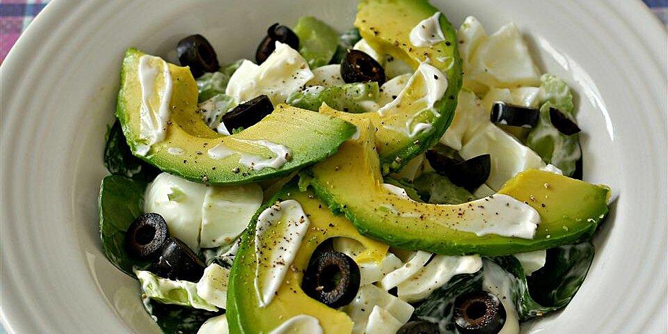 egg white and avocado salad recipe