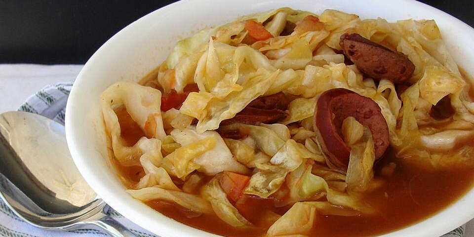 cajun cabbage soup recipe