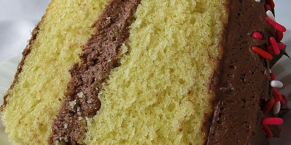 yellow cake made from scratch recipe