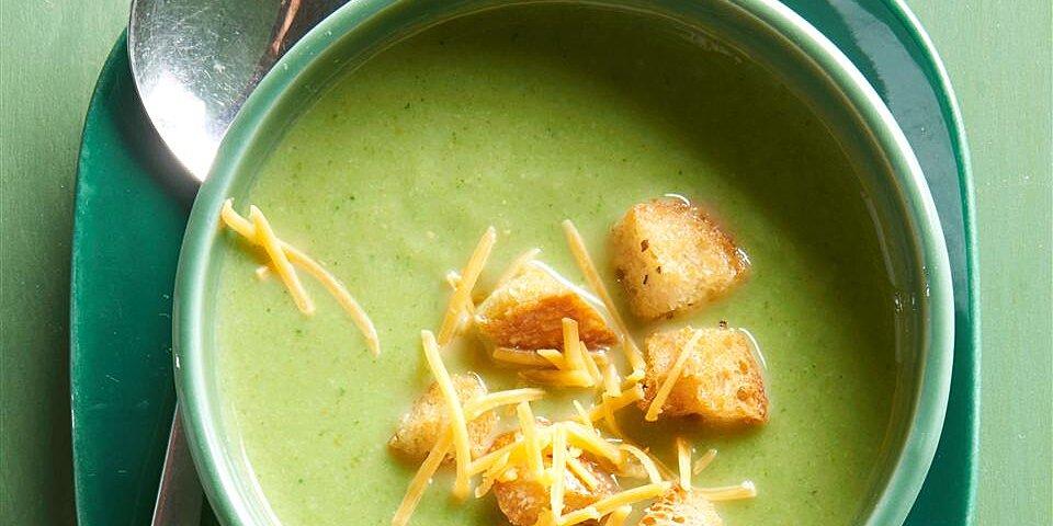 cream of broccoli soup iii recipe
