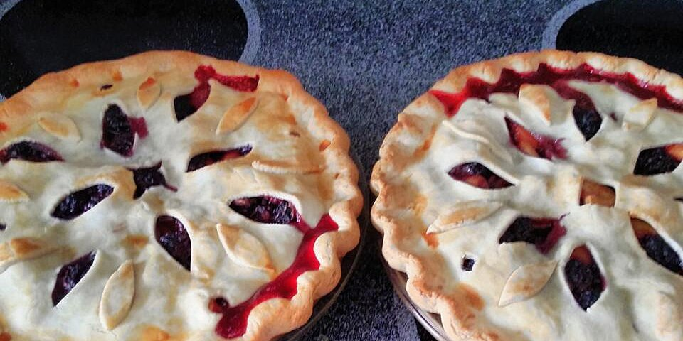 blackberry peach pie recipe