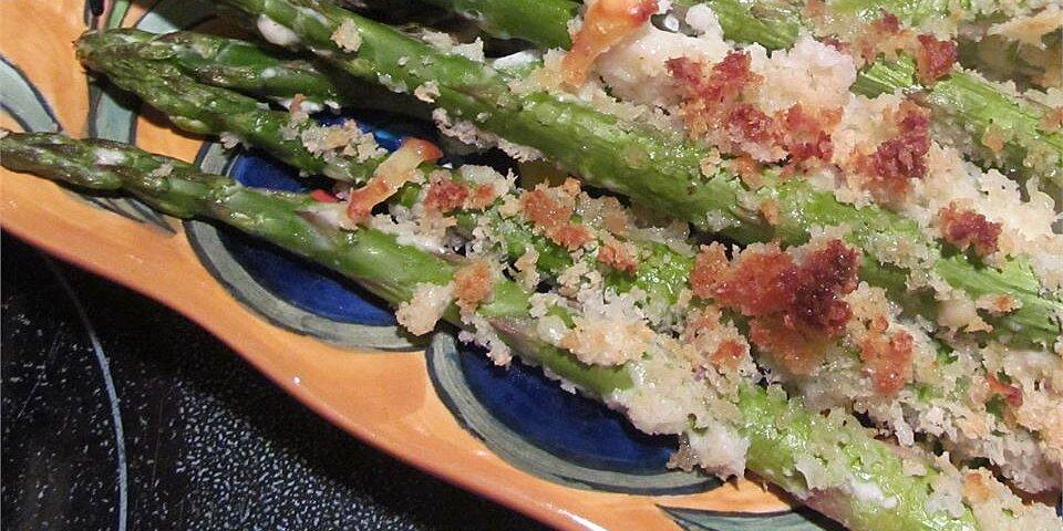 parmesan panko asparagus spears recipe
