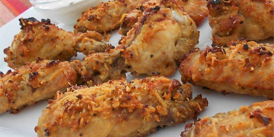 garlic and parmesan chicken wings recipe