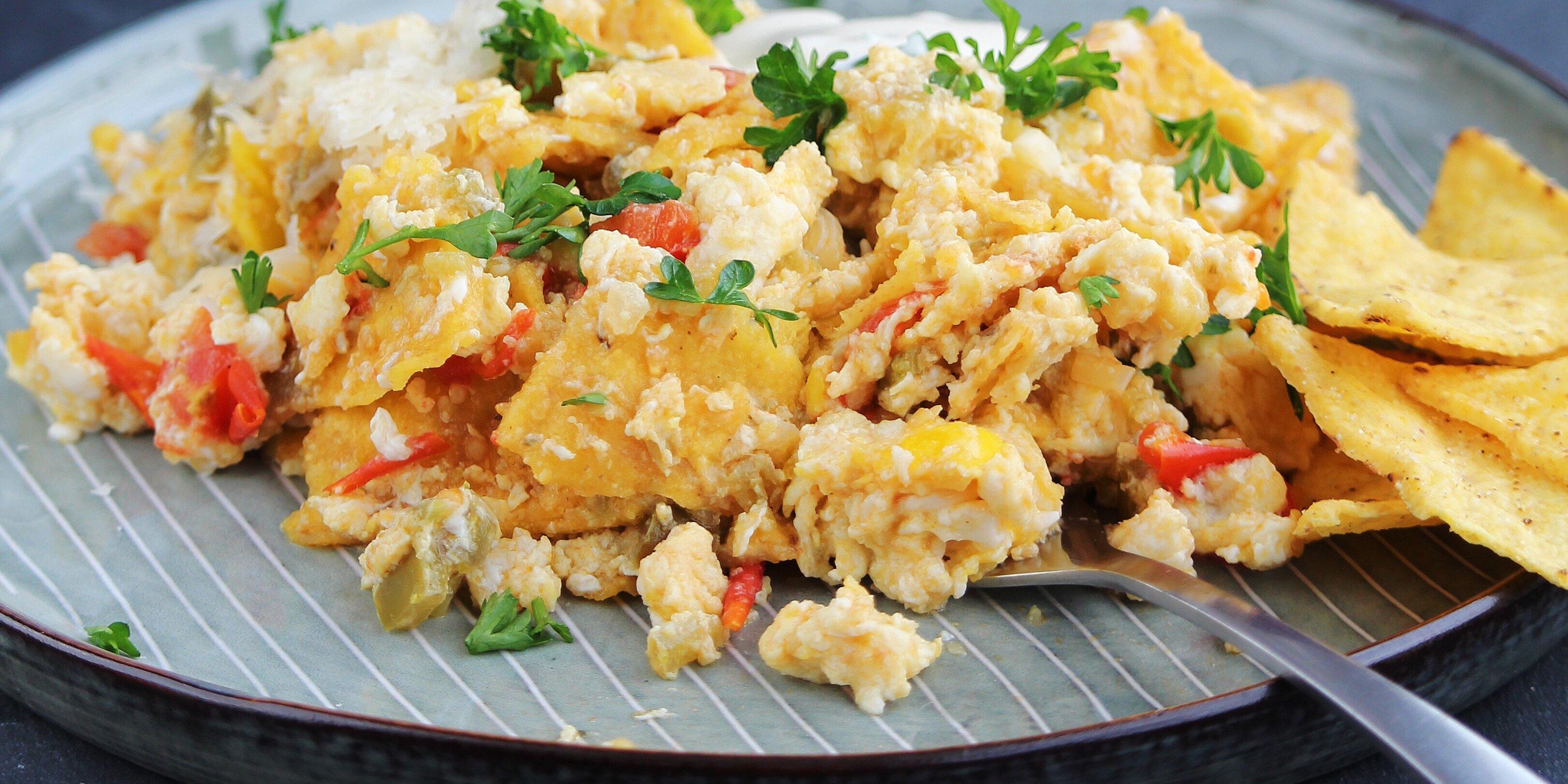 chilaquiles scramble recipe