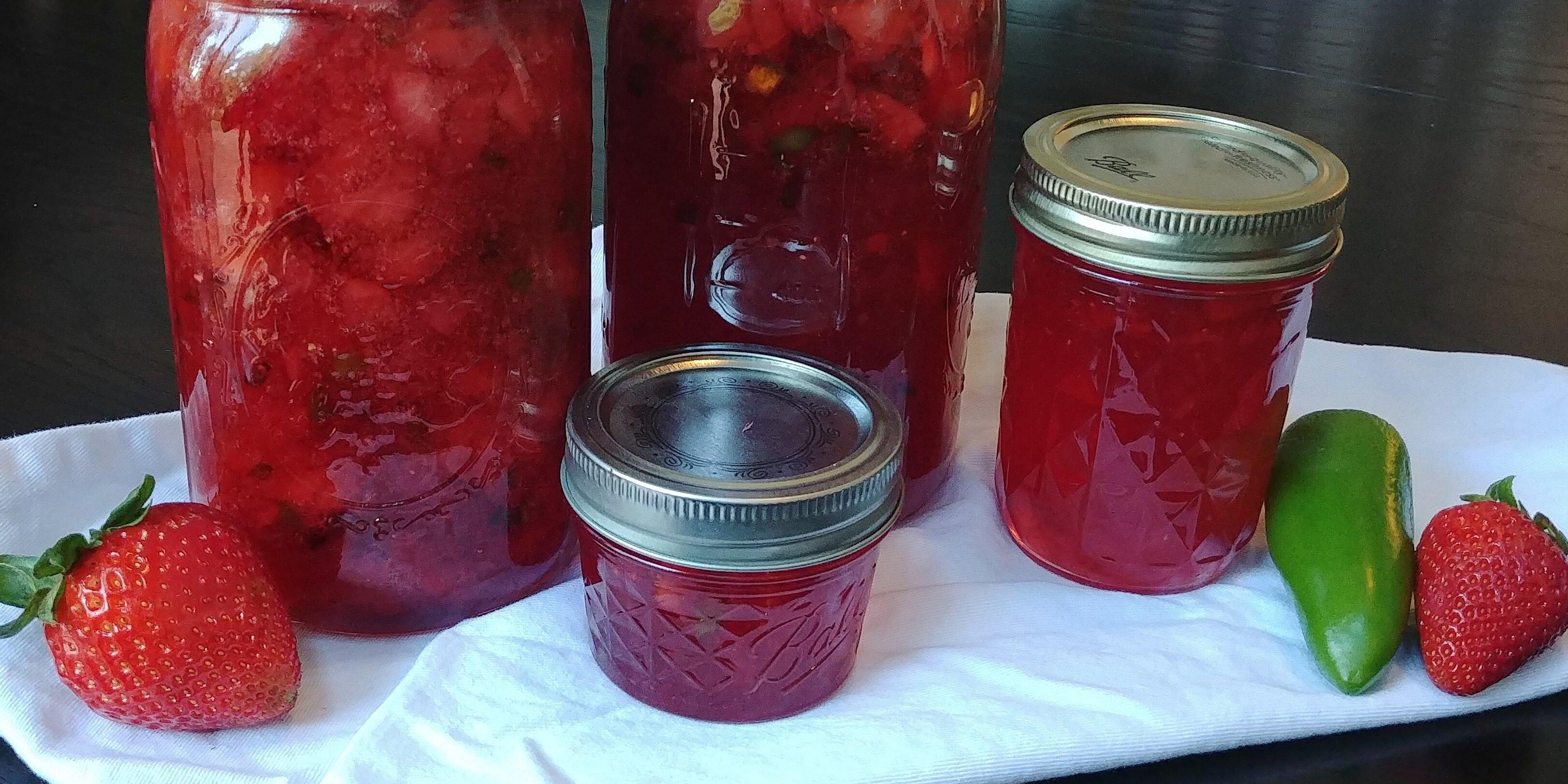 jalapeno strawberry jam recipe