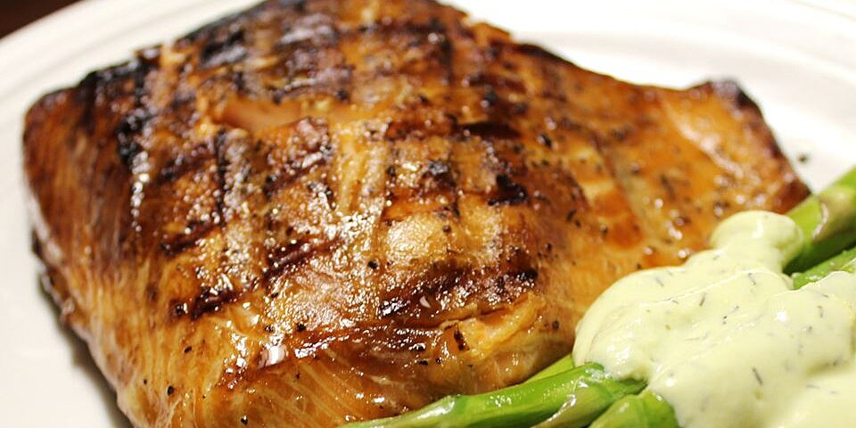 maple teriyaki salmon barbeque recipe