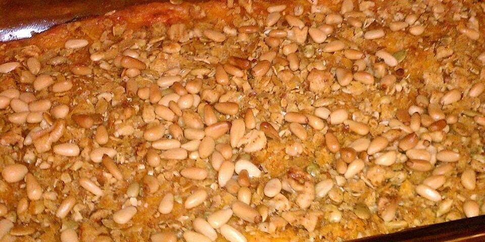 butternut squash and pecan casserole recipe