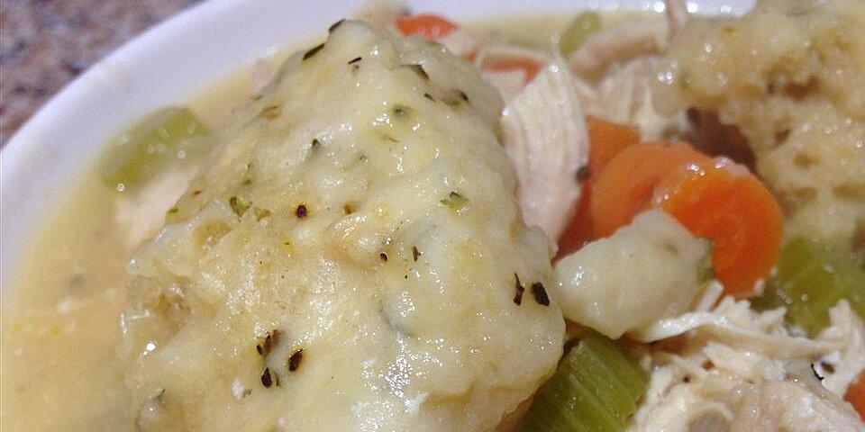 herbed dumplings recipe