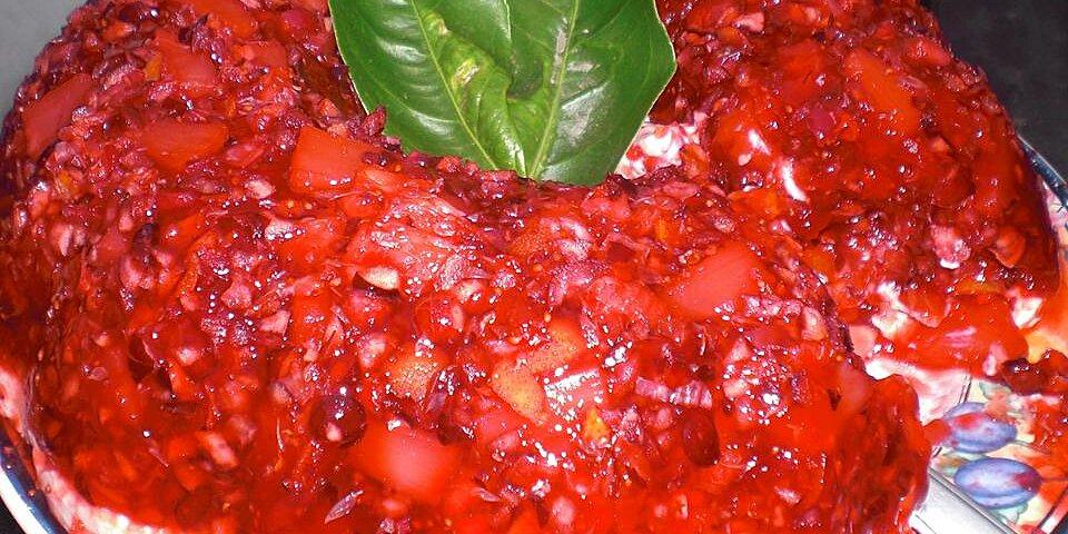moores cranberry gelatin salad recipe