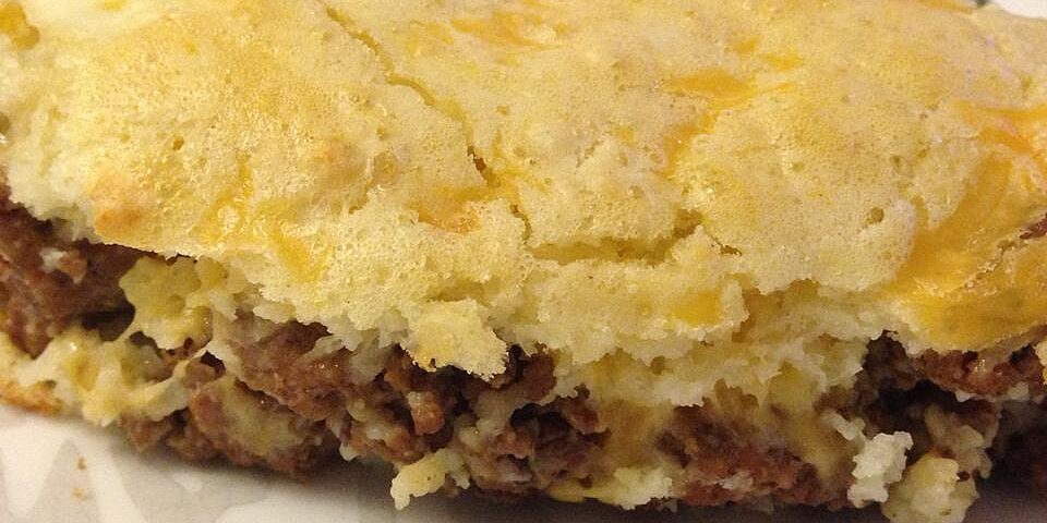 heralds impossibly easy cheeseburger pie recipe