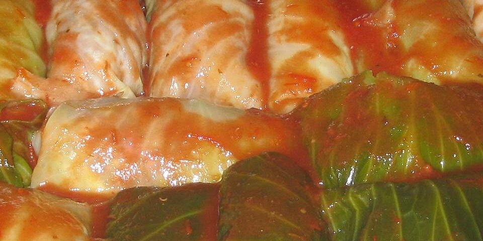 slovak stuffed cabbage recipe