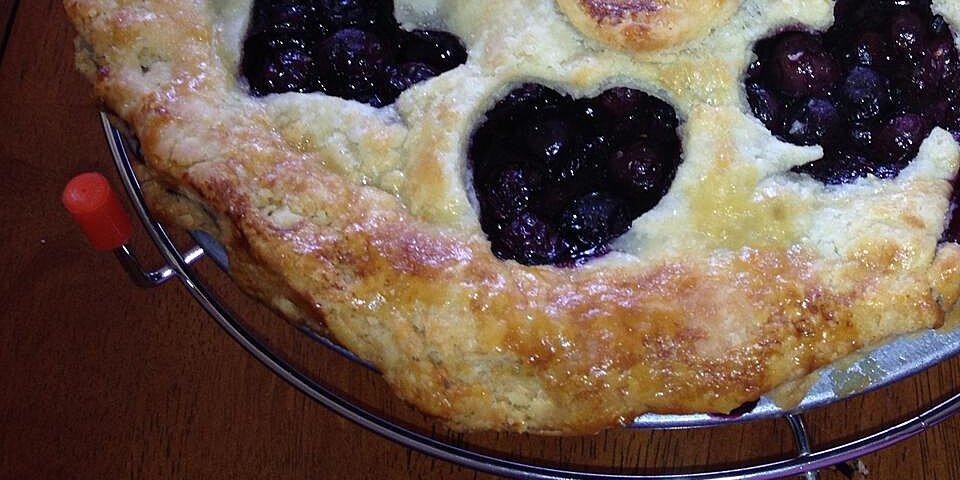 grandmas blueberry pie recipe