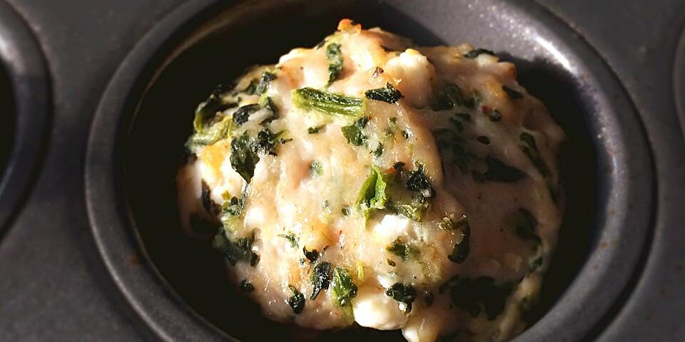 baked spinach feta and turkey meatballs recipe