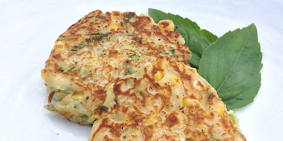 corn and zucchini pancakes