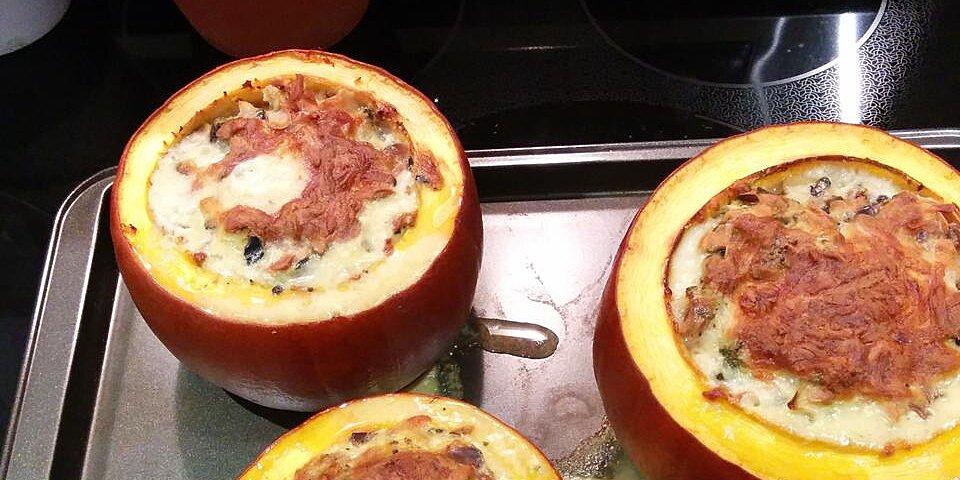 thanksgiving stuffed pumpkin recipe