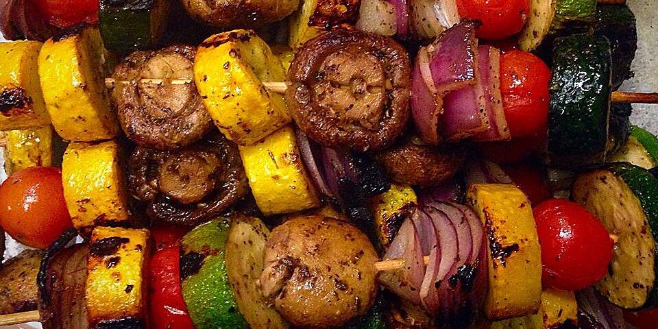 grilled veggie skewers recipe