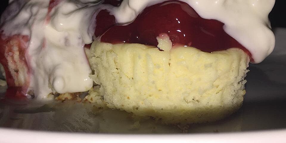 bite sized cheesecake cupcakes recipe