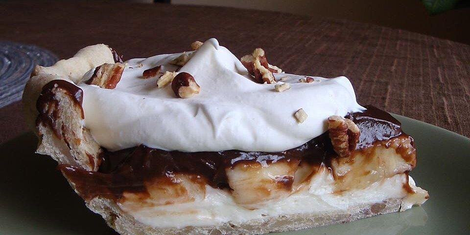 chocolate banana pie recipe