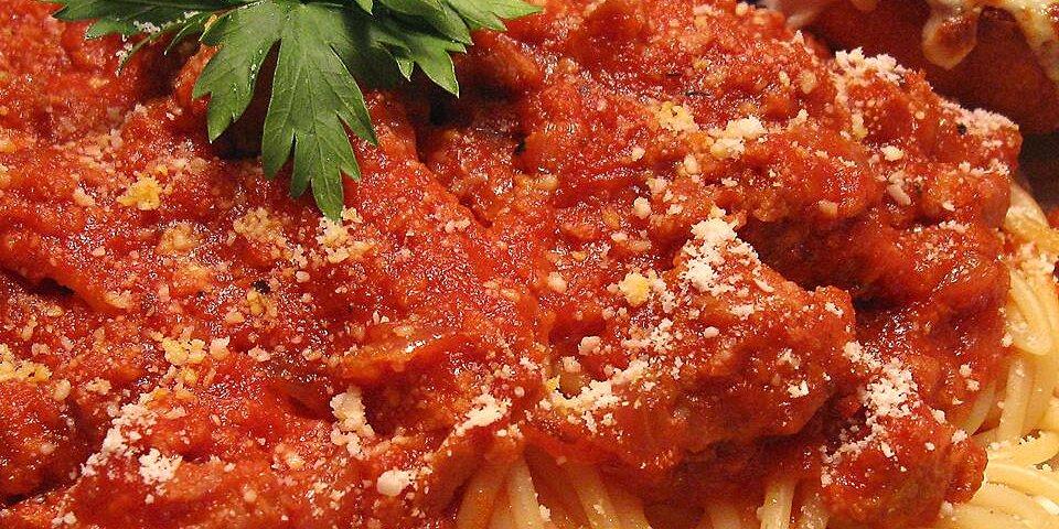 spaghetti sauce i recipe