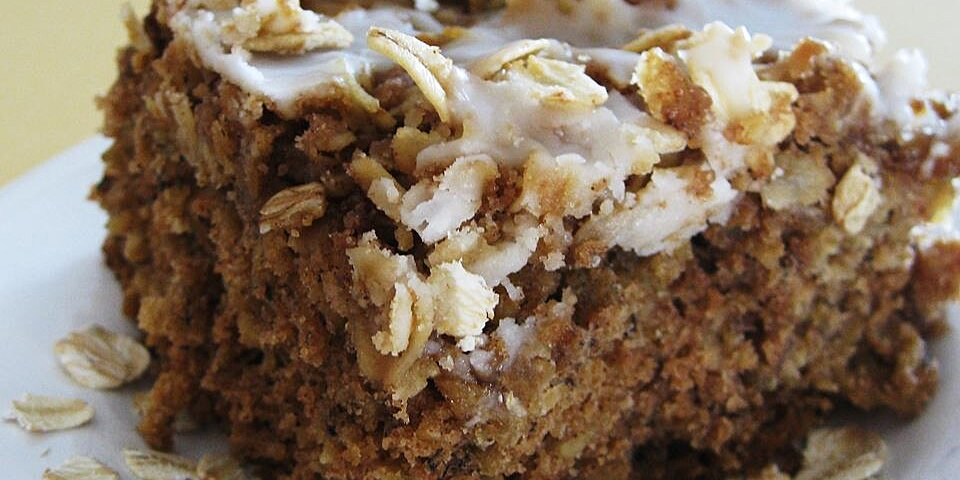 banana oatmeal crumb cake recipe