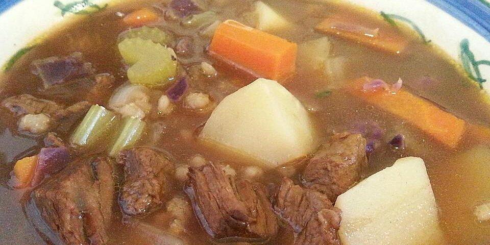 beef and barley soup iii recipe