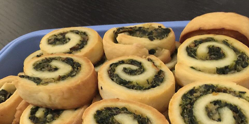 spinach and mushroom pinwheels recipe