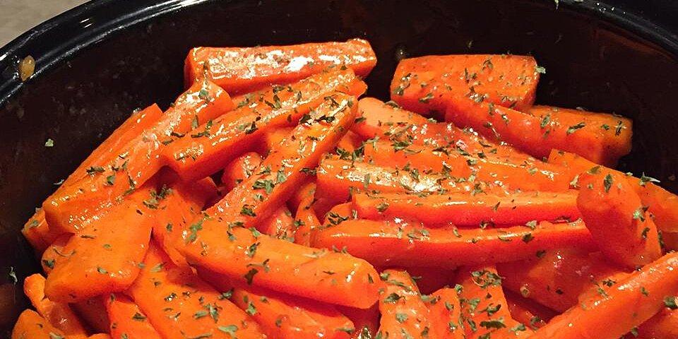 brandy glazed carrots recipe