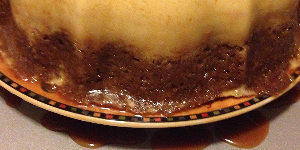 banana flan cake recipe