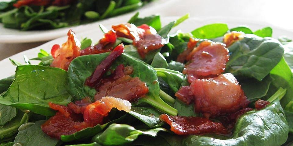 hot bacon dressing recipe