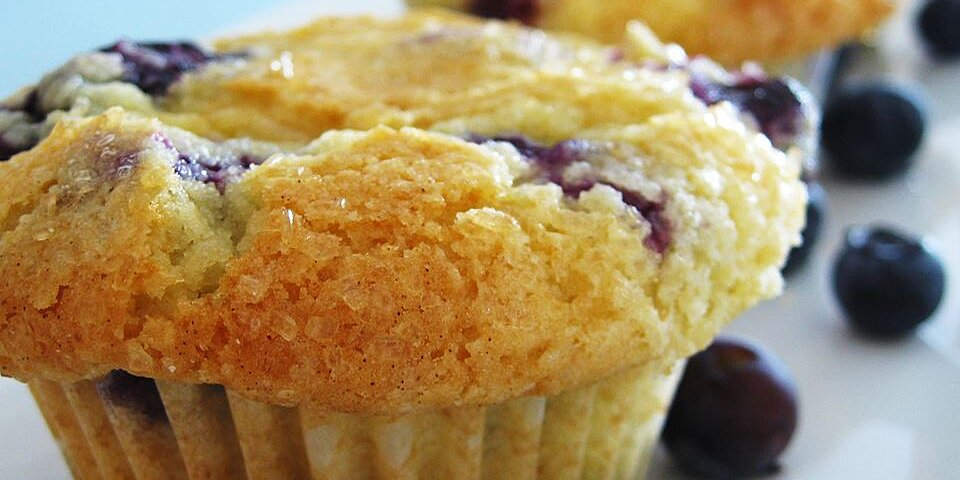 aunt blanches blueberry muffins recipe