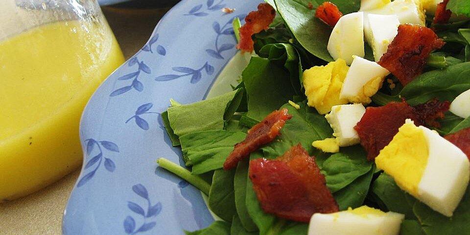spinach salad ii recipe