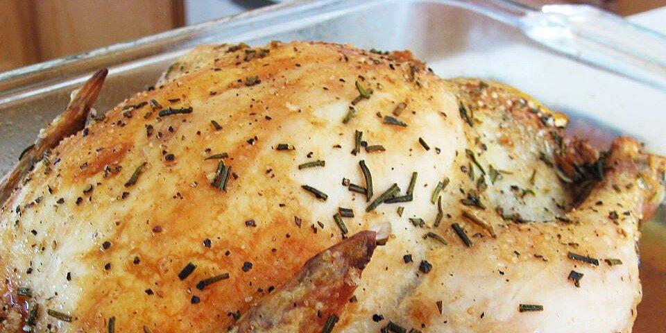 roast chicken with rosemary recipe