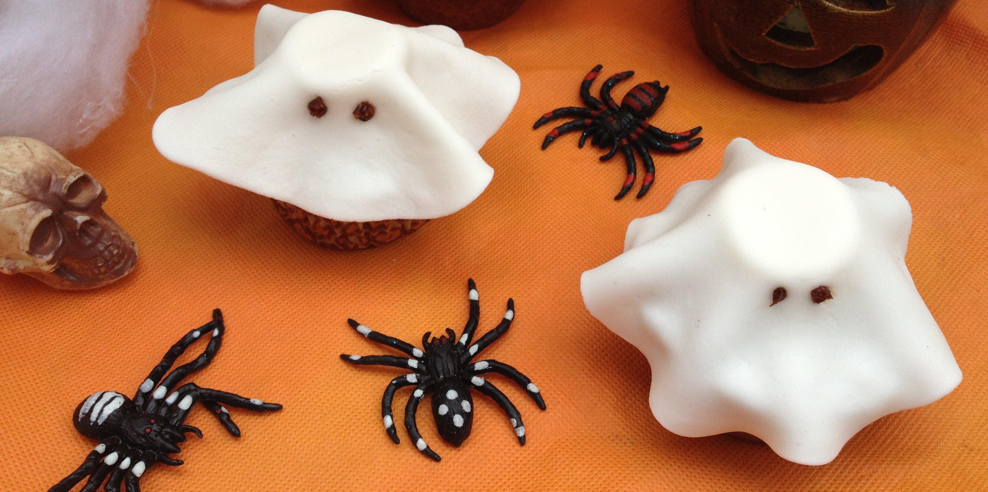 halloween fondant ghost cupcakes recipe
