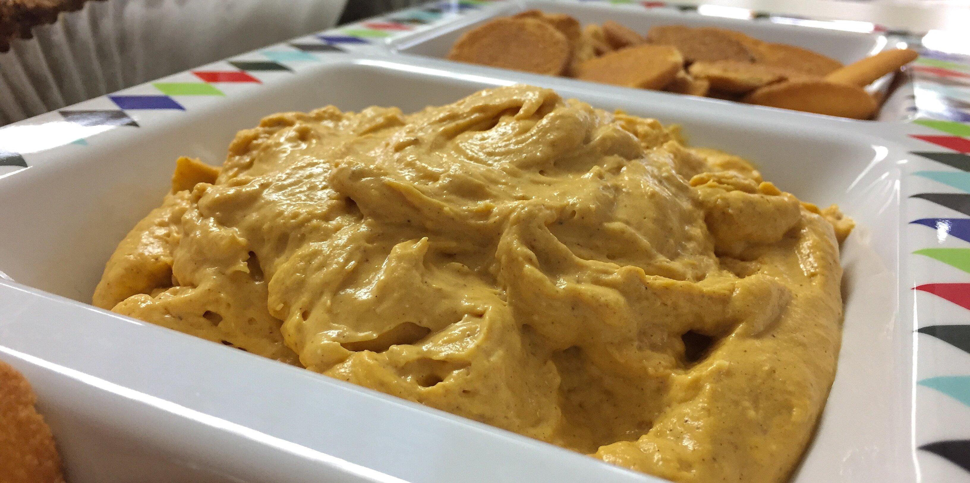 easy pumpkin pie dip recipe