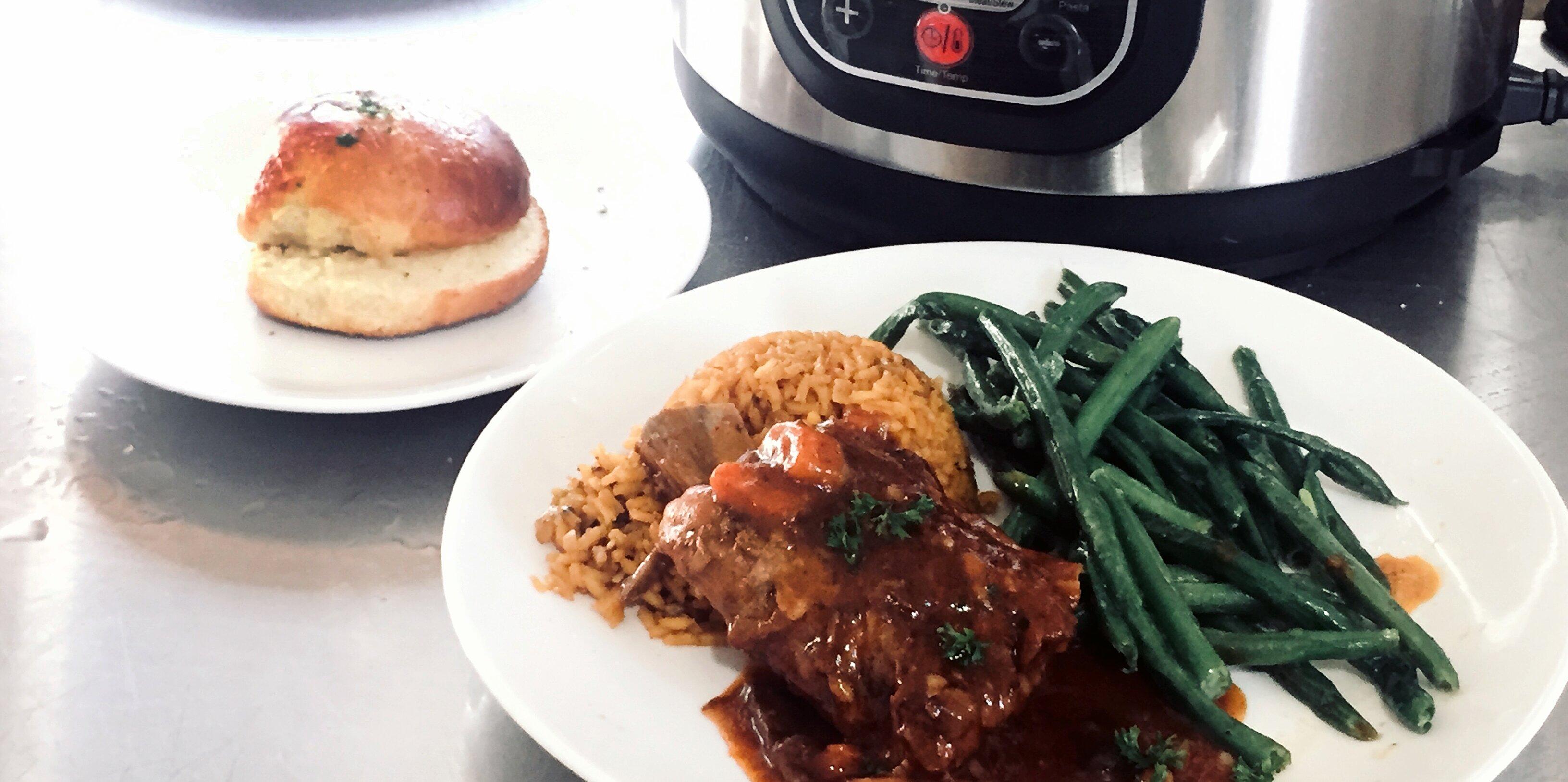 electric pressure cooker short ribs recipe
